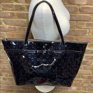 Kate Spade Camilla Street Sophie Black Patent Tote